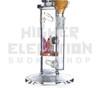 "11"" Envy Glass Designs Inline to Crystal Disc Perc w/ 14.4 mil G.O.G."