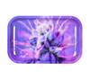 "Metal Rolling Tray Purple Kush 11"" x 7"""