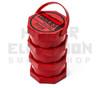 Cookies SF Jar Large Triple Stack Red