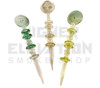 U.V. Reactive Air Flow Carb Cap Dabber - Assorted Colors (Out of Stock)
