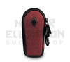 """5"""" Coffin Pipe Bag by Vatra - Burgundy Woven"""