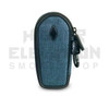 """5"""" Coffin Pipe Bag by Vatra - Blue Woven"""