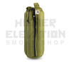 "12"" Zip Waterpipe Tube Bag by Vatra - Green Hemp"