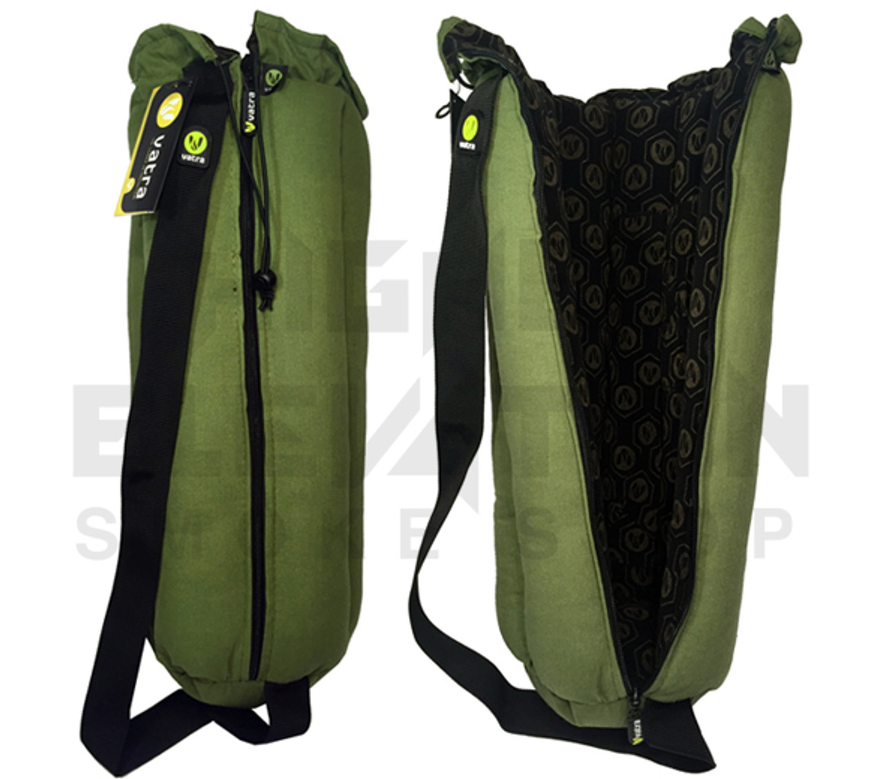 Vatra 18 Green Hemp Waterpipe Pipe Case Tube Bag Higher Elevation
