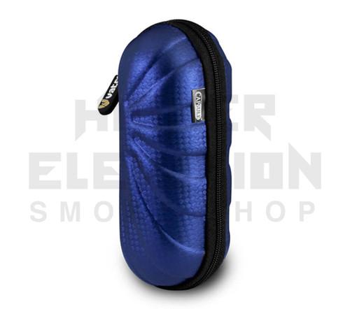 "6"" Hard Shell Capsule w/ Straps by Vatra - Blue Diamond"