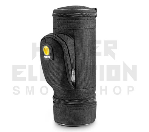 """8.5"""" Matrix Pipe Case w/ Grinder Compartment by Vatra - Black Woven"""
