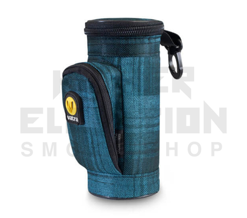 "6.5"" Mini Matrix Pipe Case by Vatra - Blue Plaid"