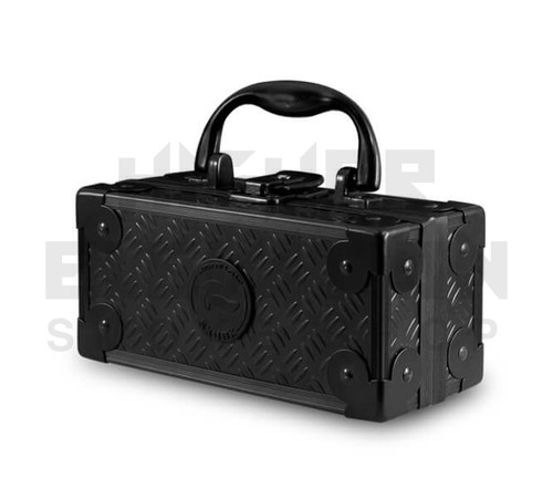 """6.5"""" x 3"""" x 3"""" Lock N Load  Aluminum Pipe Mod Vape Case by Vatra - Black (Out of Stock)"""