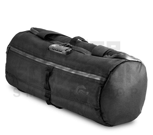 """16"""" Duffle Tube Lockable Odor Protection Pipe Case by Vatra - Black"""