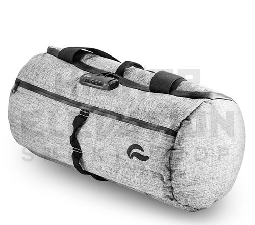 """16"""" Duffle Tube Lockable Odor Protection Pipe Case by Vatra - Charcoal Gray"""