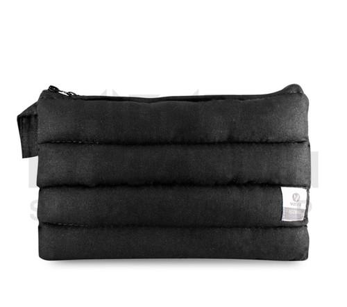 "11"" x 6.5"" Zip Pipe Bubbler Bag by Vatra - Black Hemp"