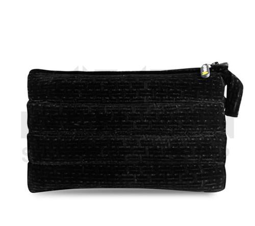 "11"" x 6.5"" Zip Pipe Bubbler Bag by Vatra - Black Velvet"