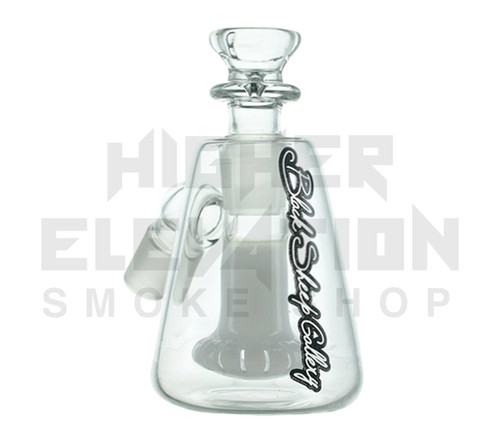14.4 45 Degree Pyramid Ashcatcher w/White Showerhead by Black Sheep (Out of Stock)