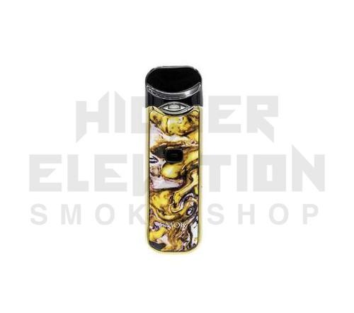 Nord Kit by Smok - Yellow w/ Purple Resin