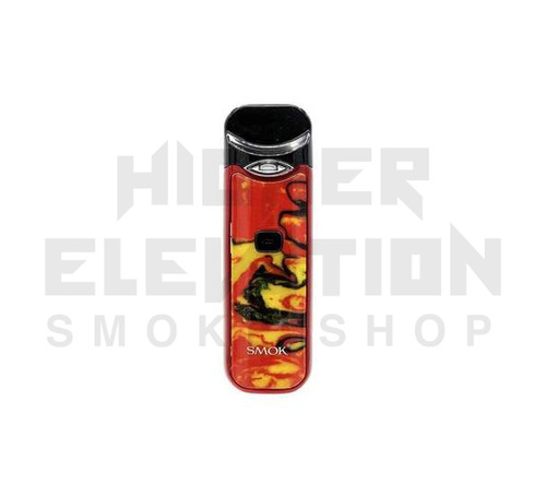 Nord Kit by Smok - Red w/ Yellow Resin