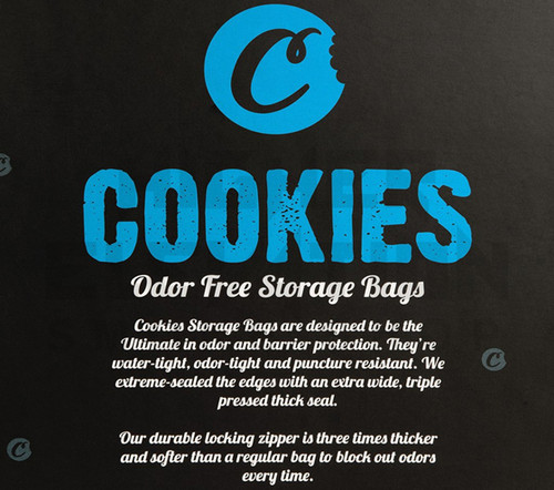 Cookies SF Odor Free Bags (MEDIUM) (Out of Stock)