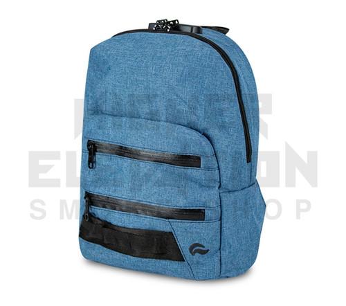 "13"" Skunk Mini Backpack - Smell Proof - Water Proof - Lockable - Denim Blue"