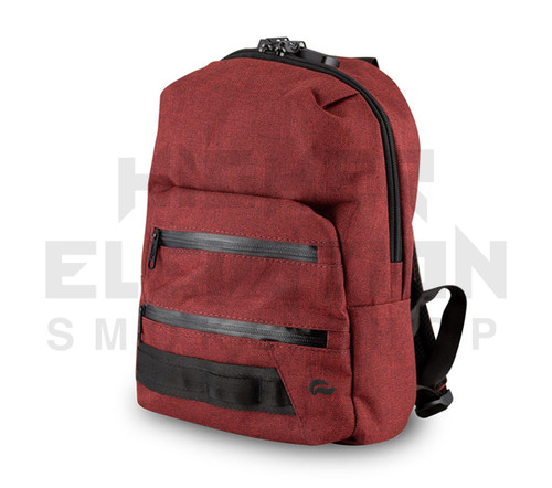 """13"""" Skunk Mini Backpack - Smell Proof - Water Proof - Lockable - Burgundy (Out of Stock)"""