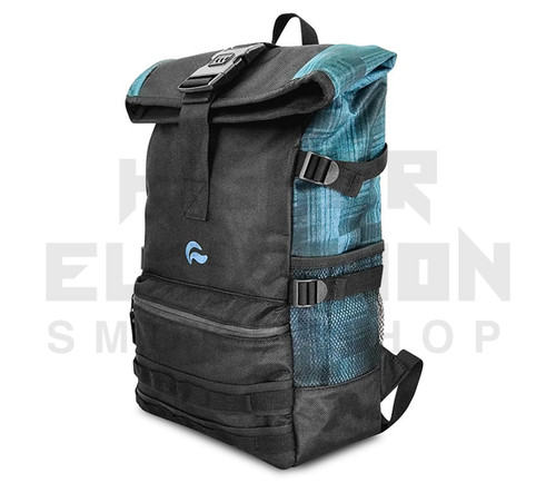 """20"""" Skunk Backpack Rogue - Smell Proof - Water Proof - Lockable - Blue Plaid"""