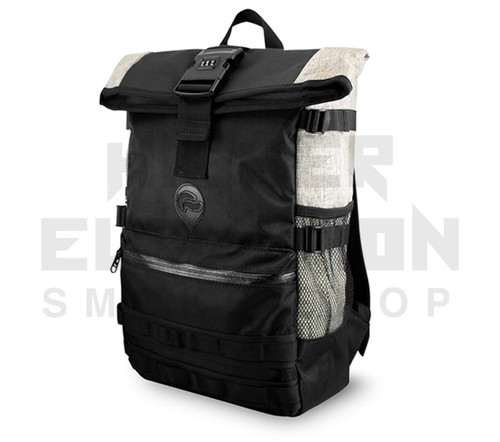 """20"""" Skunk Backpack Rogue - Smell Proof - Water Proof - Lockable - Khaki"""