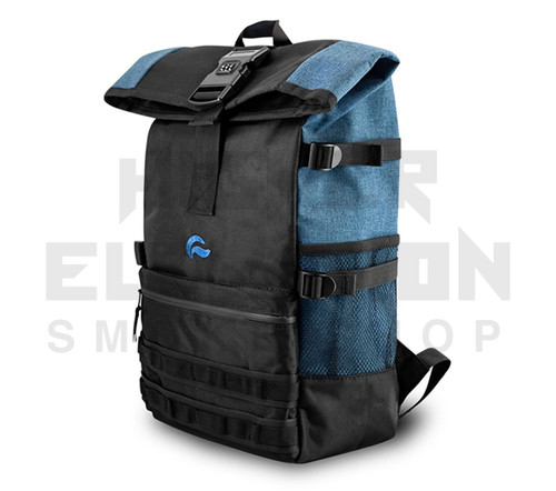 """20"""" Skunk Backpack Rogue - Smell Proof - Water Proof - Lockable - Denim Blue (Out of Stock)"""