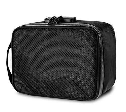 "8.25″ × 6″ × 3 "" Sidekick Lockable Odor Protection Pipe Case by Skunk - Black"