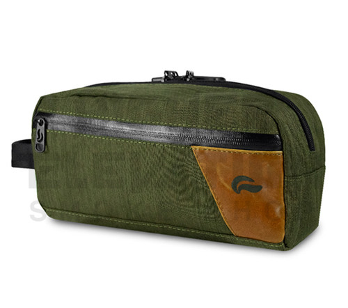 10″ x 5″ x 5 Dope Kit Lockable Odor Protection Pipe Case by Skunk - Green