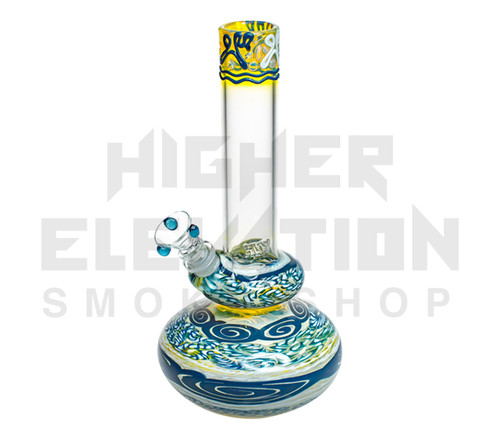 """HVY 11"""" 38Mil Color Cane & Fumed Double Bubble (assorted colors) (Out of Stock)"""