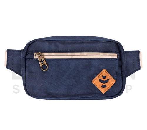 """8.5"""" x 5"""" x 2.5"""" Companion Odor Protection Fanny Pack by Revelry - Marine"""