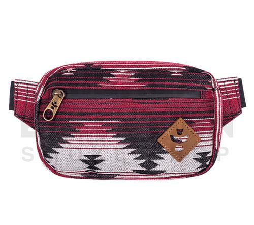 "8.5"" x 5"" x 2.5"" Companion Odor Protection Fanny Pack by Revelry - Navajo Maroon"