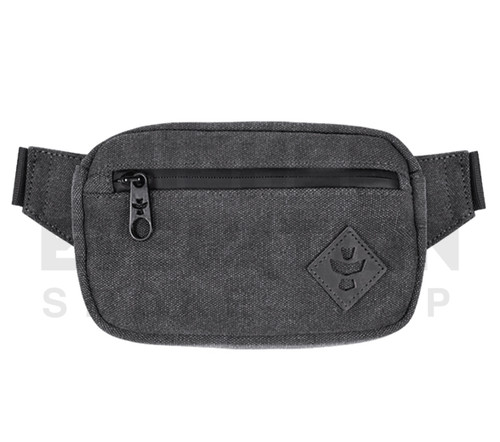 """8.5"""" x 5"""" x 2.5"""" Companion Odor Protection Fanny Pack by Revelry - Smoke"""