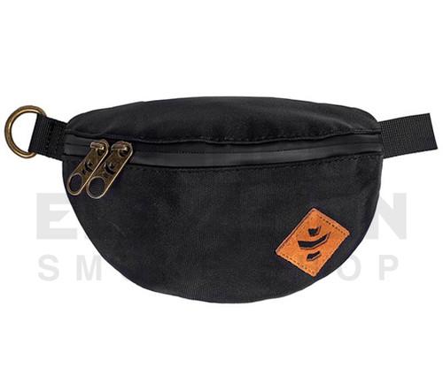 "8.5"" x 5"" x 2.5"" Amigo Odor Protection Fanny Pack by Revelry - Black"