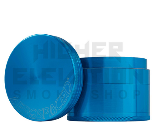 "2.5"" 4-Piece Grinder by Aerospaced - Blue"