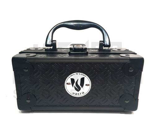 "Vatra Lock N Load 6.5"" x 3"" x 3"" Black Aluminum Pipe Mod Vape Case (Out of Stock)"