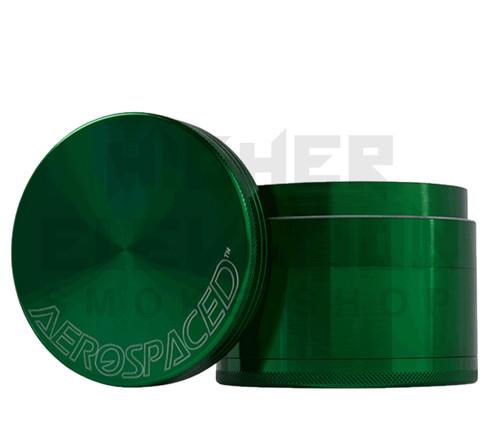 "2.5"" 4-Piece Grinder by Aerospaced - Green"