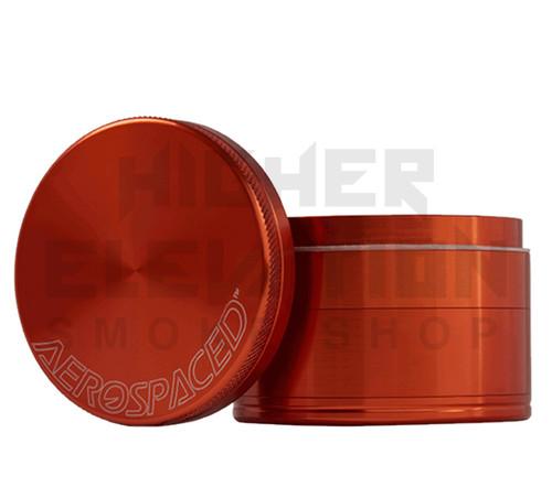 """2.5"""" 4-Piece Grinder by Aerospaced - Orange"""