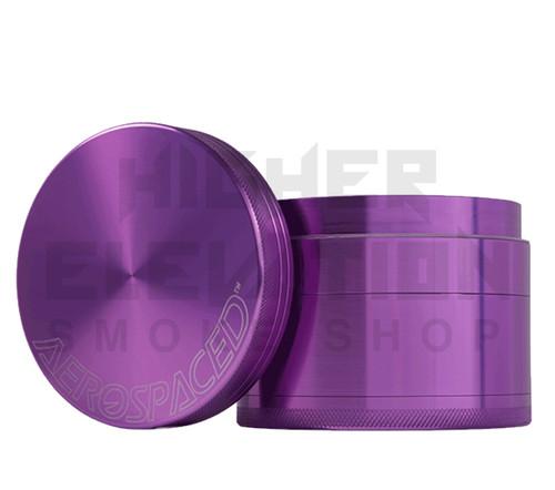 "2.5"" 4-Piece Grinder by Aerospaced - Purple"