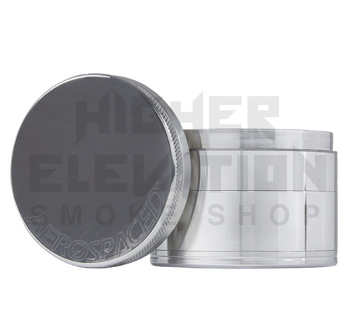 """2.5"""" 4-Piece Grinder by Aerospaced - Silver (Out of Stock)"""