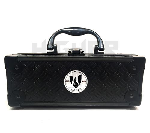 "Vatra Lock N Load 8"" x 3"" x 3"" Black Aluminum Pipe Mod Vape Case  (Out of Stock)"