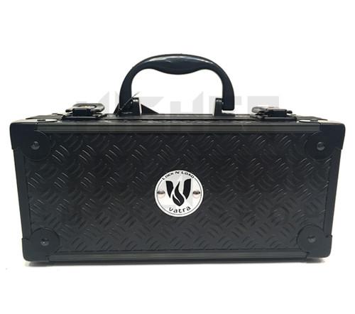 "Vatra Lock N Load 9"" x 4"" x 4"" Black Aluminum Pipe Mod Vape Case  (Out of Stock)"