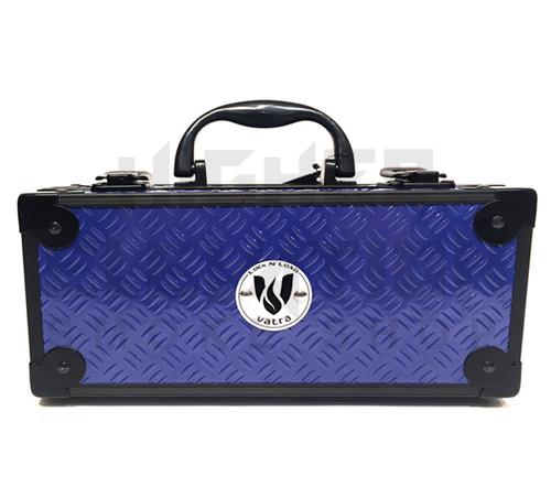 "Vatra Lock N Load 9"" x 4"" x 4"" Indigo Blue Aluminum Pipe Mod Vape Case  (Out of Stock)"