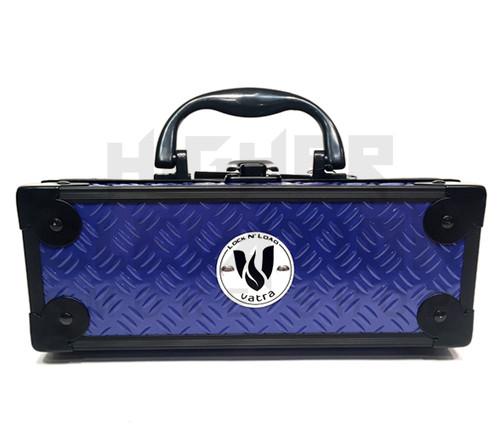 "Vatra Lock N Load 8"" x 3"" x 3"" Indigo Blue Aluminum Pipe Mod Vape Case  (Out of Stock)"