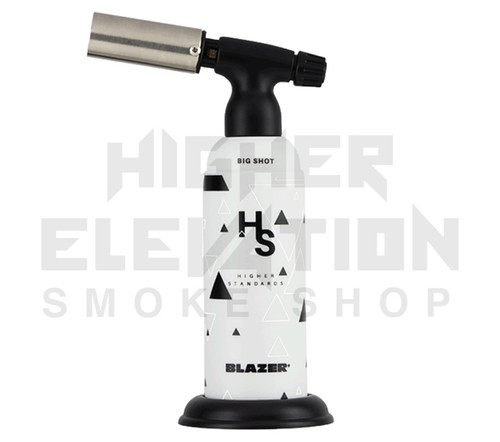 Blazer Big Shot Torch by Higher Standards - White & Black  (Out of Stock)