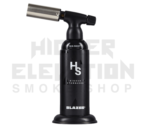 Blazer Big Shot Torch by Higher Standards - Black (Out of Stock)