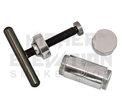 """Piranha Aluminum T Press - Medium 5"""" (Out of Stock)"""