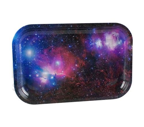 "Metal Rolling Tray - Galaxy - 11.25""x7.5"""