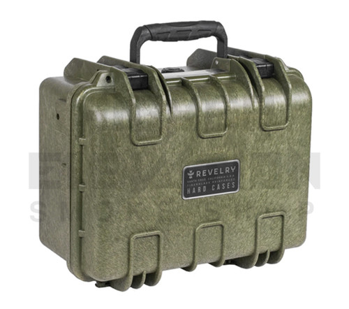 "Revelry Scout Hard Shell Case 13"" x 9"" x 6.5"" - Army Green"
