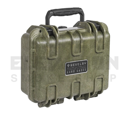 "Revelry Scout Hard Shell Case 11"" x 8"" x 4.5"" - Army Green"