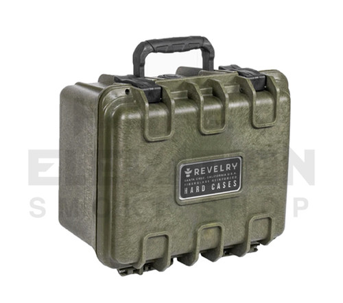 "Revelry Scout Hard Shell Case 9.5"" x 7.5"" x 6"" - Army Green"