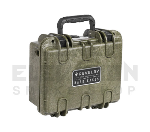 "Revelry Scout Hard Shell Case 8.7"" x 6.3"" x 3.7"" - Army Green"